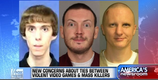 fox news video game violence