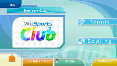 Wii Sports Screenshot - Wii Sports club