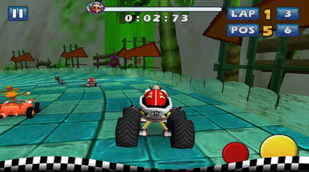 sega and sonic all star racing