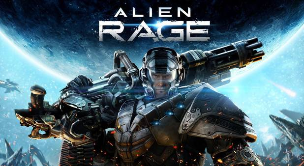 Alien Rage Screenshot - Alien Rage Review: I think I pissed off my editors...