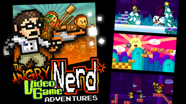 Angry Video Game Nerd Adventures Screenshot - Angry Video Game Nerd Adventures