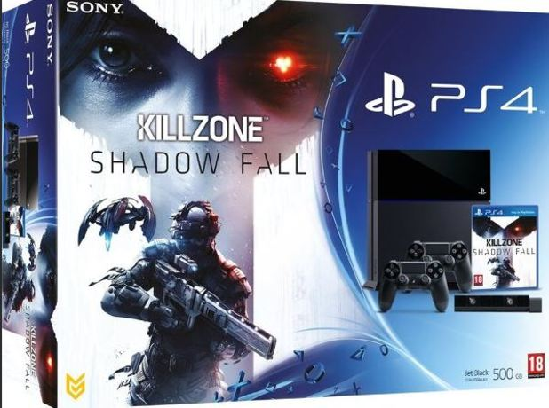 PS4 killzone shadow fall bundle