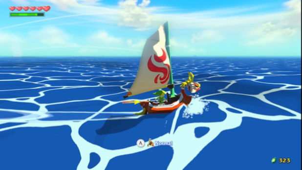 The Legend of Zelda: The Wind Waker Screenshot - The Swift Sail