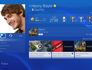 PS4 user interface profile