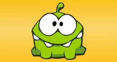 Cut the Rope Screenshot - Om Nom