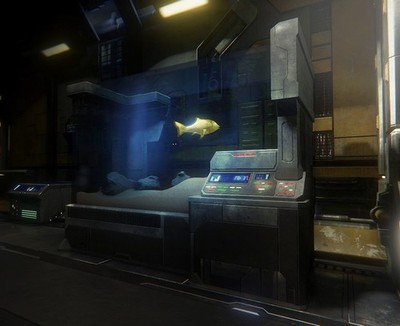 Star Citizen fish tank
