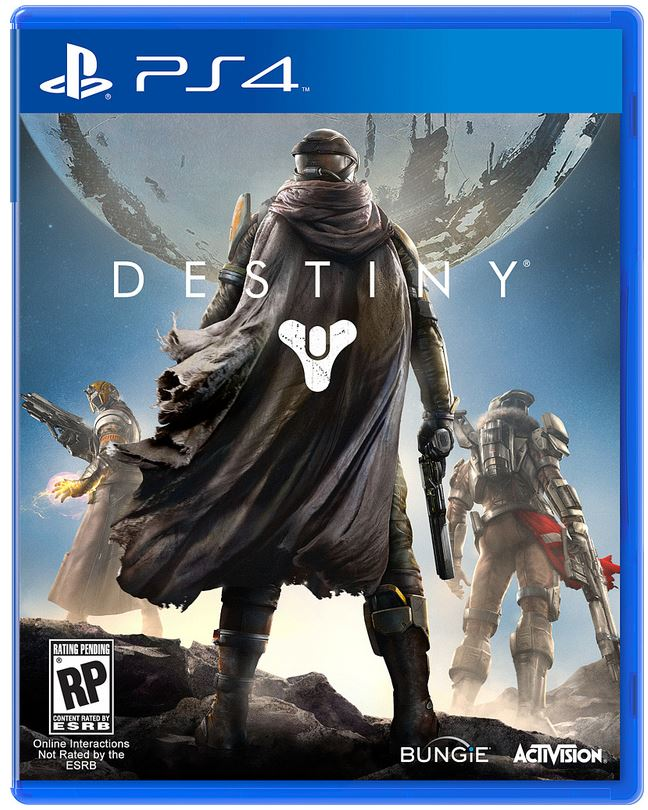 Destiny PS4 box art