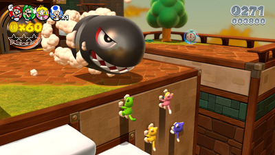 Super Mario 3D World Screenshot - Cat suits