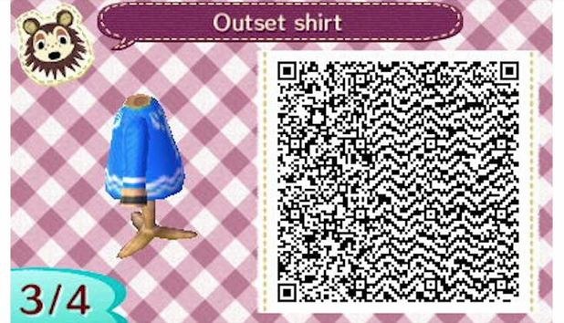 Animal Crossing: New Leaf Screenshot - Animal Crossing: New Leaf Outset shirt