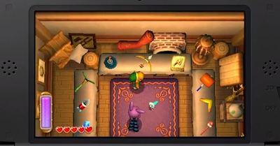 The Legend of Zelda: A Link Between Worlds Screenshot - Rovio's Shop