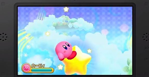 New Kirby game on 3DS