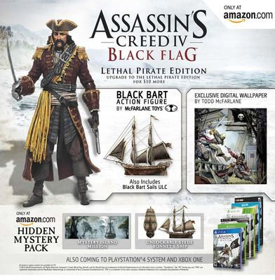 Assassin's Creed 4: Black Flag Screenshot - AC4: Black Flag Letha Pirate Edition