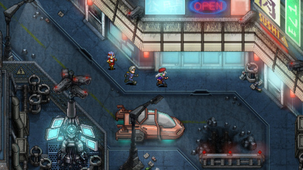 Kickstarter Screenshot - Cosmic Star Heroine