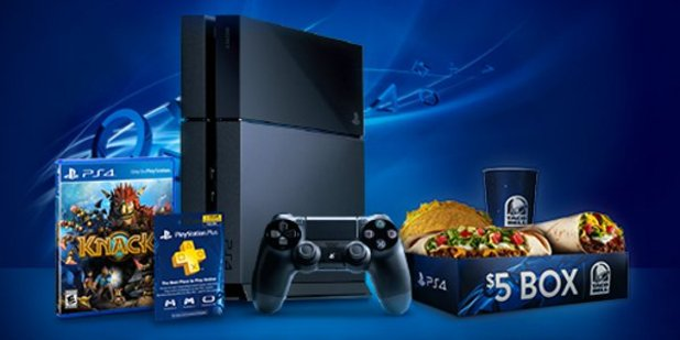 The Fast Food Connoisseur – PS4 5 Buck Box from Taco Bell