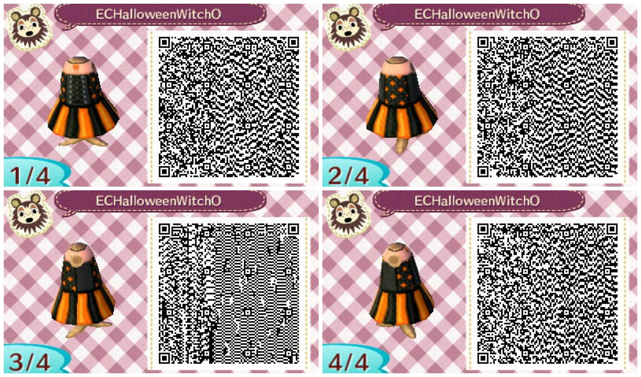 Animal crossing new leaf qr codes getting some halloween Boden qr codes animal crossing new leaf