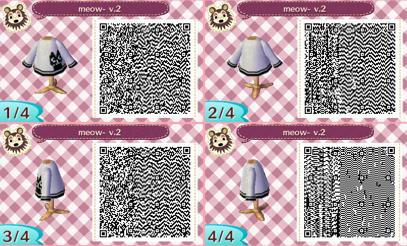 Animal Crossing: New Leaf QR codes, getting some Halloween