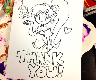 Shantae thank you