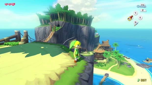The Legend of Zelda The Wind Waker HD - Wii U - 1
