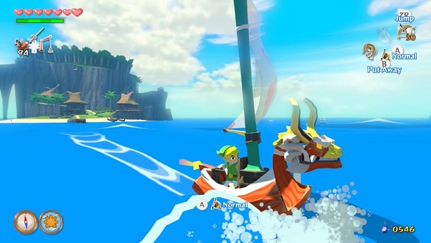 The Legend of Zelda The Wind Waker HD - Wii U - 2