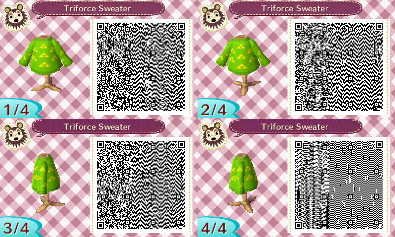 Animal Crossing: New Leaf QR Codes, time to put some video ...