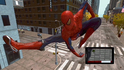 The Amazing Spider-Man: The Game Screenshot - the amazing spider-man
