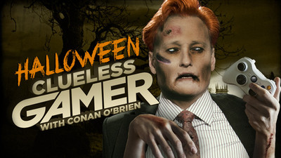 Gaming Culture Screenshot - halloween clueless gamer conan o'brien
