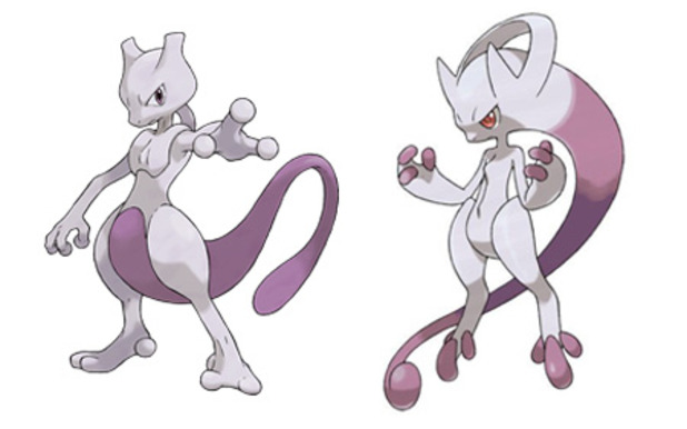 Pokémon X and Pokémon Y Screenshot - Mewtwo