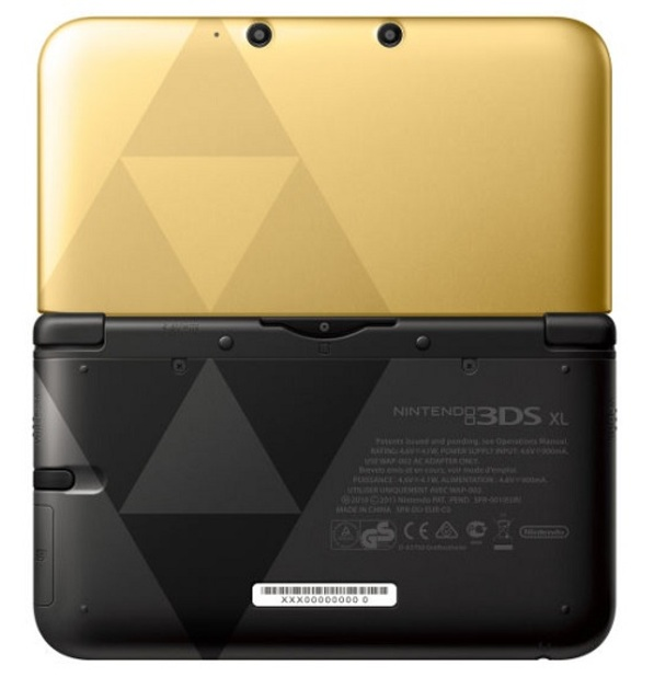 3ds xl zelda edition