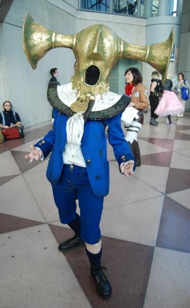 Boy of Silence from Bioshock Infinite