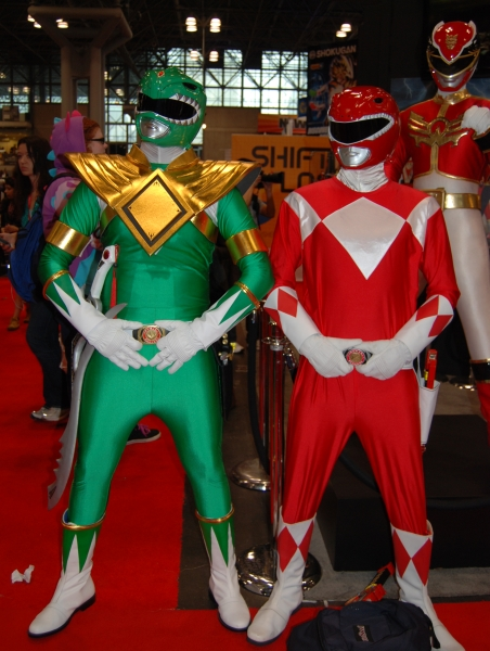 Power Rangers at NYCC