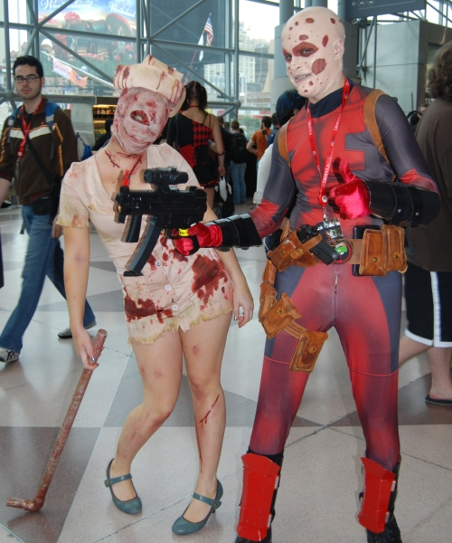 Silent Hill and Deadpool