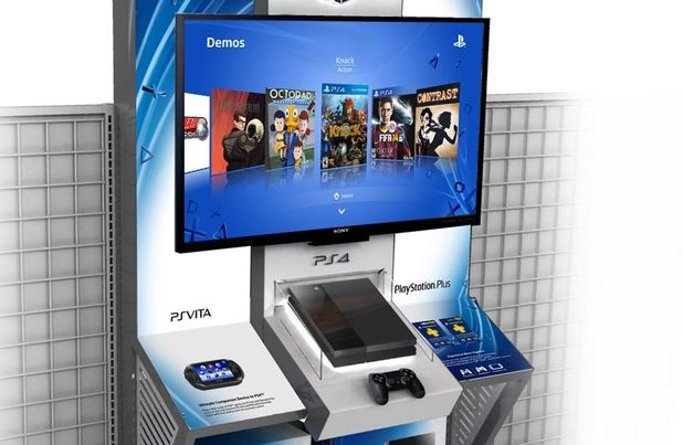 PlayStation 4 (console) Screenshot - PS4 kiosk