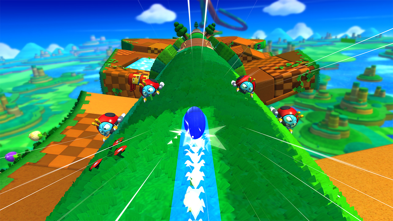 Sonic Lost World on Wii U