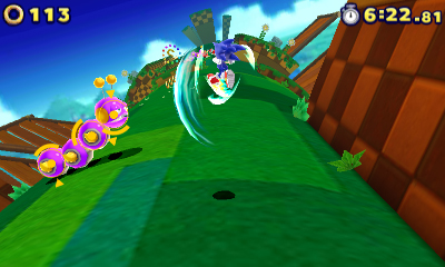 Sonic Lost World on 3DS