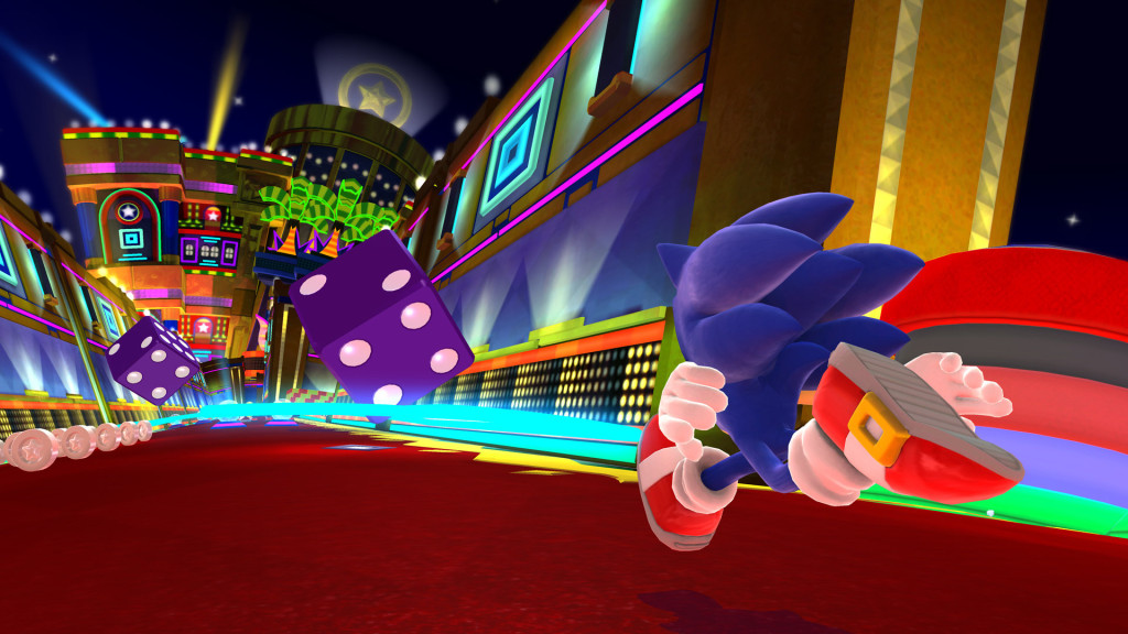 Casino Night in Sonic Lost World on Wii U