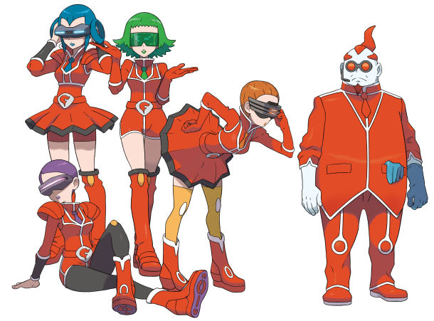 Pokemon Team Flare