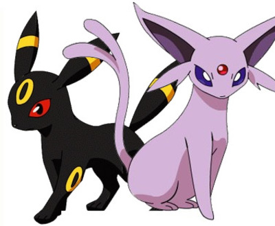 Pokémon X and Pokémon Y Screenshot - Umbreon Espeon