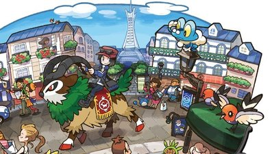 Pokémon X and Pokémon Y Screenshot - Lumiose City