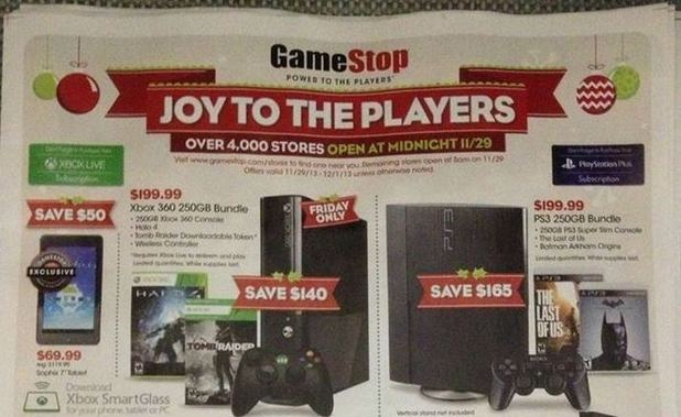 Xbox One (Console) Screenshot - GameStop Black Friday