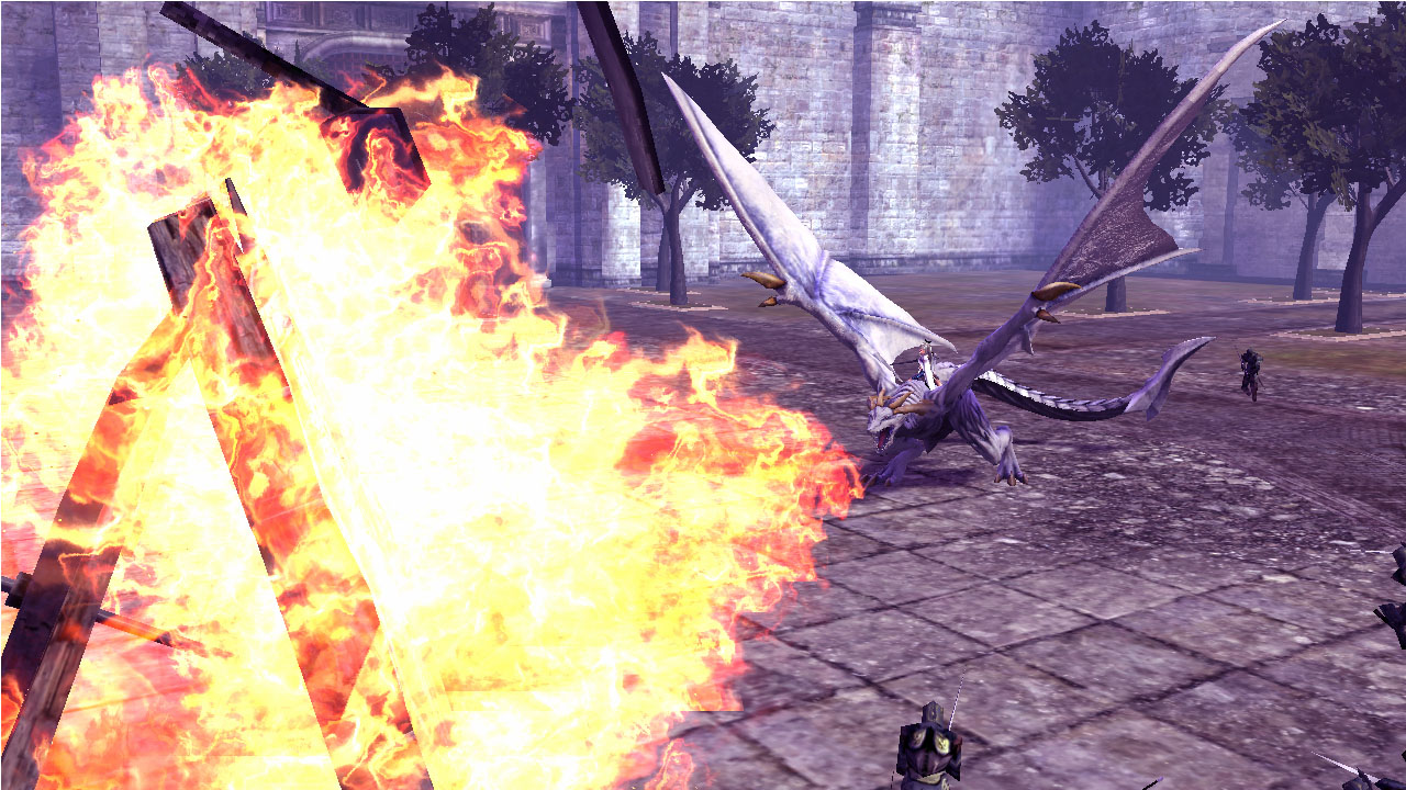Drakengard 3 dragon battle