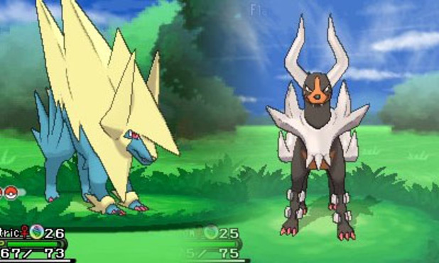 Mega Manectric Mega Houndoom