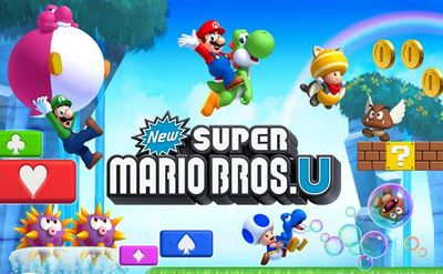 Wii U (console) Screenshot - New Super Mario Bros U