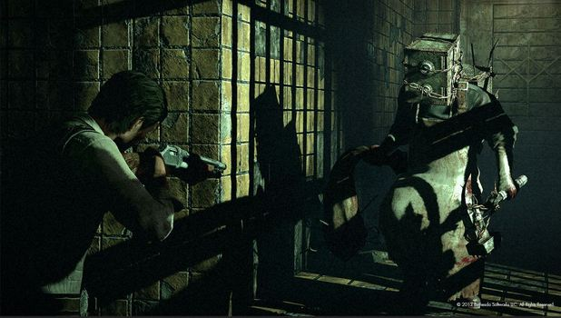 The Evil Within Screenshot - The Evil Within Boxman