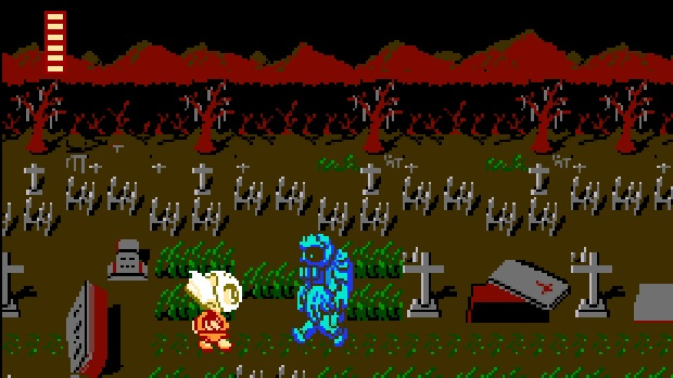 Splatterhouse Wanpaku Graffiti - Famicom - 1