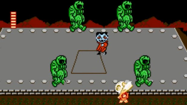 Splatterhouse Wanpaku Graffiti - Famicom - 2