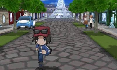 Pokémon X and Pokémon Y Screenshot - Pokemon X and Y Luminose City