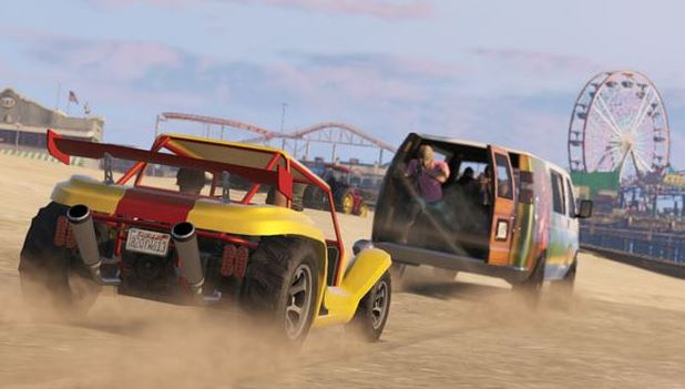 Grand Theft Auto V Screenshot - GTA 5 Beach Bum Pack