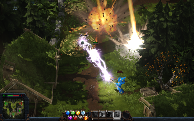 How Magicka Wizard Wars Plans to Stand Out In The MOBA Genre