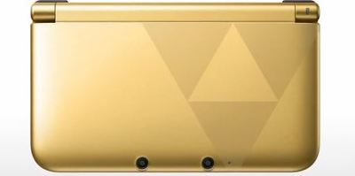Nintendo 3DS XL Screenshot - Gold 3DS XL The Legend of Zelda