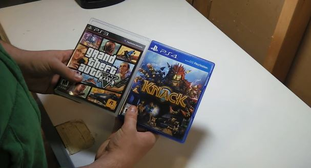 Knack unboxing video compares size of PS4 and PS3 game cases